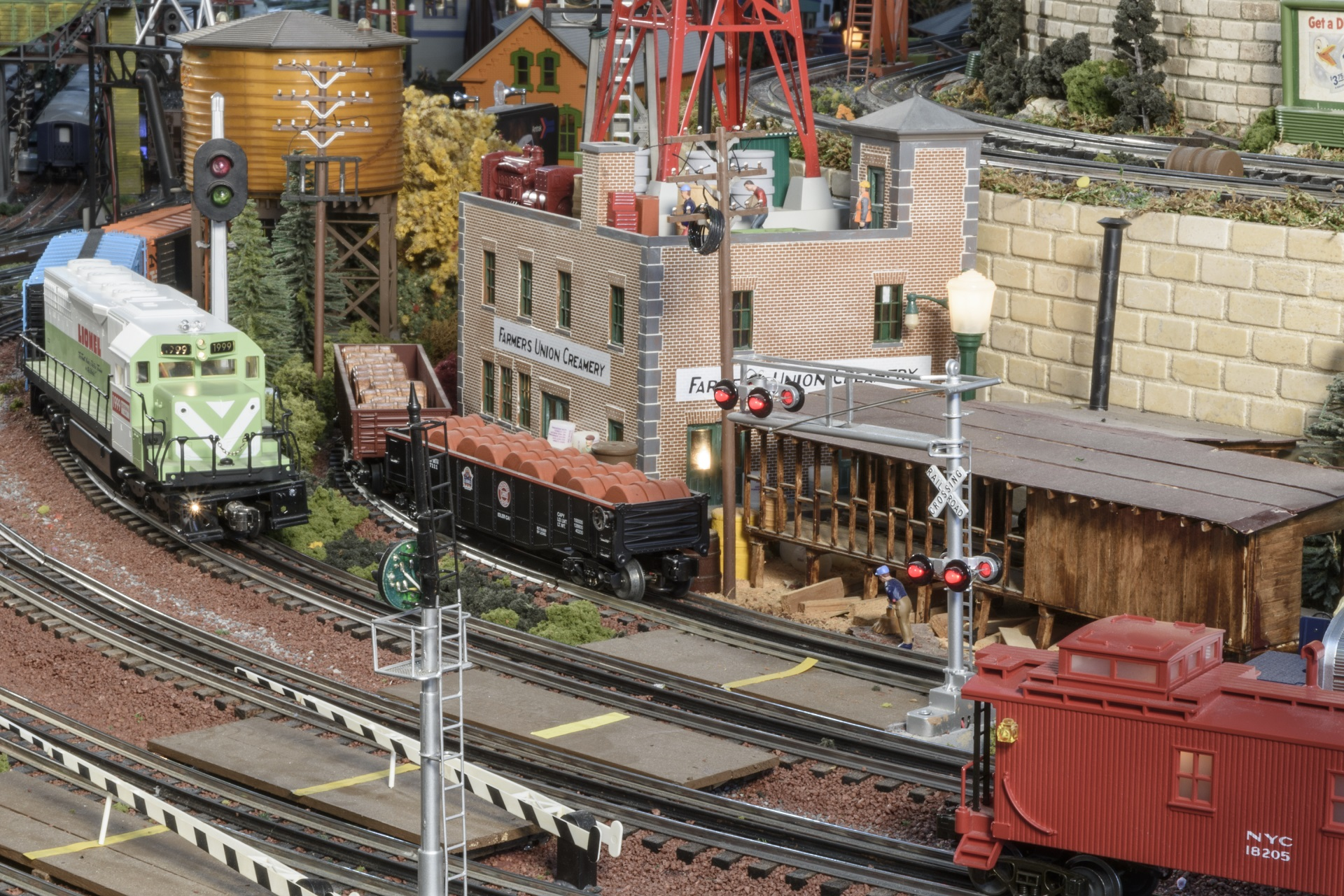Anthony A. Soldano Model Railroad